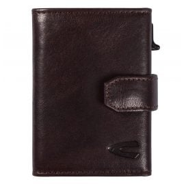 camel active 31870228 Wallet Dark Brown Leather Trapani