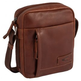 camel active 290-602-22 Small Men's Bag Laredo Cognac Brown Leather