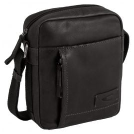 camel active 290-602-60 Men's Bag Laredo Black Leather