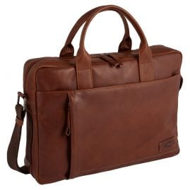 camel active 290-802-22 Men's Businees Bag Laredo Cognac Brown