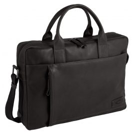 camel active 290-802-60 Men's Businees Bag Laredo Black Briefcase