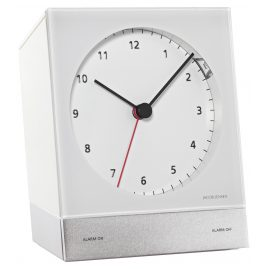 Jacob Jensen 32342 Quartz Alarm Clock White