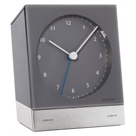 Jacob Jensen 32350 Radio-Controlled Alarm Clock Grey