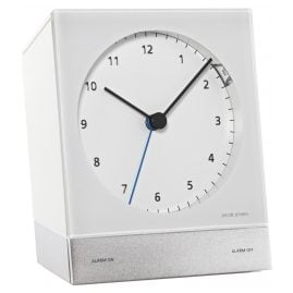 Jacob Jensen 32352 Radio-Controlled Alarm Clock White