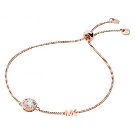 Michael Kors MKC1206AN791 Ladies Bracelet Rose Gold Plated Silver