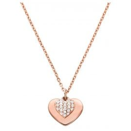 Michael Kors MKC1120AN791 Ladies' Necklace Love Rose
