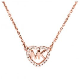 Michael Kors MKC1244AN791 Necklace Rose Gold Plated Silver