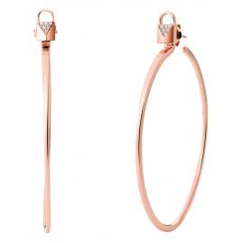 Michael Kors MKC1139AN791 Ladies' Hoop Earrings