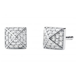 Michael Kors MKC1299AN040 Ladies' Stud Earrings Mercer Silver