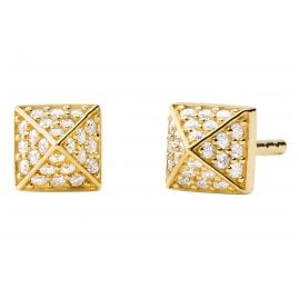 Michael Kors MKC1299AN710 Women's Stud Earrings Mercer Gold Plated Silver