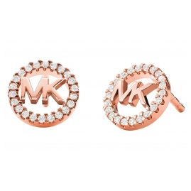 Michael Kors MKC1247AN791 Women's Stud Earrings Rose Gold Plated Silver