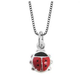 trendor 49105 Silver Kids Necklace Beetle