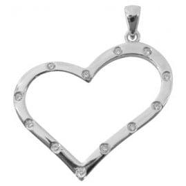 trendor 61771 Silver Heart Pendant
