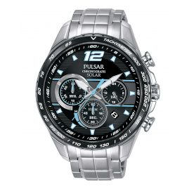 Pulsar PZ5031X1 Solar Men's Chronograph Rally
