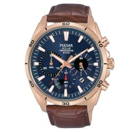 Pulsar PZ5062X1 Solar Men's Wristwatch Chronograph