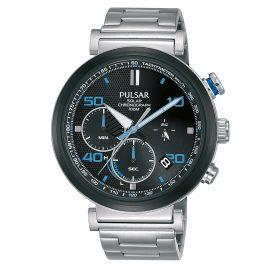 Pulsar PZ5065X1 Solar Men's Chronograph Rally