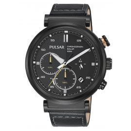 Pulsar PZ5071X1 Solar Men's Watch Chronograph Rally