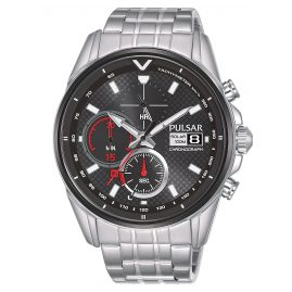 Pulsar PZ6027X1 Men's Watch Solar Chronograph Rally