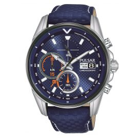 Pulsar PZ6031X1 Men's Watch Solar Chronograph Rally