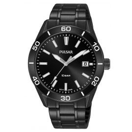 Pulsar PS9649X1 Men's Wristwatch Black 10 bar Sport
