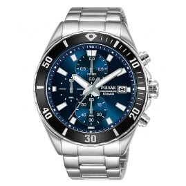 Pulsar PM3187X1 Men's Watch Chronograph Blue/Black