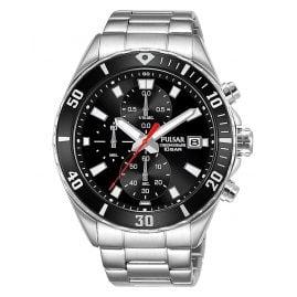 Pulsar PM3189X1 Herren-Armbanduhr Chronograph Schwarz