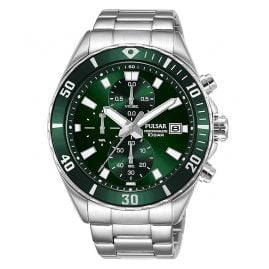 Pulsar PM3193X1 Men's Chronograph Watch Green