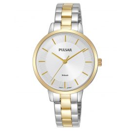 Pulsar PH8476X1 Damen-Armbanduhr Quarz Bicolor
