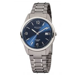 Regent F-433 Men's Wristwatch Titanium Ø 36 mm