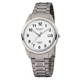 Regent F-432 Men's Watch Titanium Ø 36 mm