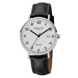 Regent F-1229 Men's Wristwatch Stainless Steel, Ø 38 mm
