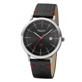 Regent BA-703 Men's Watch Titanium Black