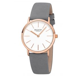 Regent F-1221 Ladies' Watch Quartz Leather Strap Ø 33 mm