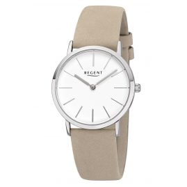 Regent F-1219 Women's Watch with Leather Strap Ø 33 mm