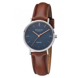 Regent F1216 Ladies' Watch with Leather Strap
