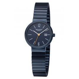 Regent F-1357 Ladies' Wristwatch with Elastic Strap Blue