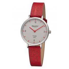 Regent BA-689 Women's Watch Titanium Red/Grey