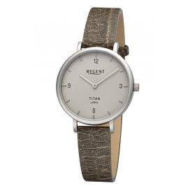 Regent BA-694 Titan-Uhr für Damen Grün/Grau