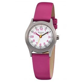 Regent F-946 Children's Watch for Girls Titanium Ø 26 mm
