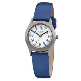 Regent F-947 Children's Watch Titanium Blue Ø 26 mm
