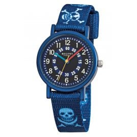 Regent F951 Aluminium Kids Watch with Textile Strap Pirate