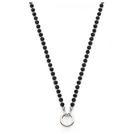 Leonardo 016710 Damen-Halskette Chicco Darlin's Schwarz