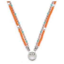 Leonardo 016822 Ladies' Necklace Corallo Darlin's