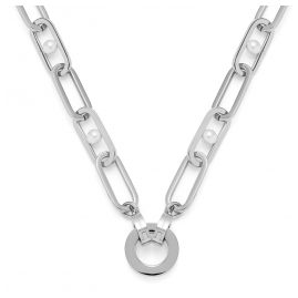 Leonardo 018409 Ladies' Necklace Marcellina Clip&Mix Stainless Steel