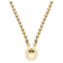 Leonardo 019663 Damen-Halskette Nohra Clip&Mix Edelstahl vergoldet