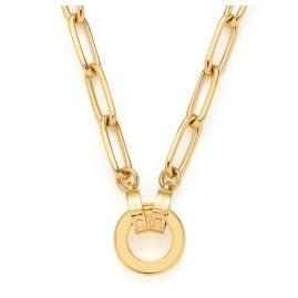 Leonardo 021614 Damenkette Estrella Clip&Mix Goldfarben