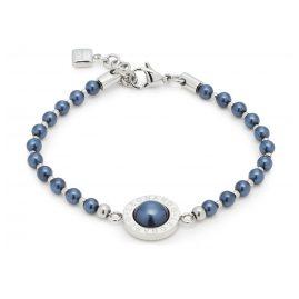 Leonardo 016682 Armband Matrix Perla Blauschwarz