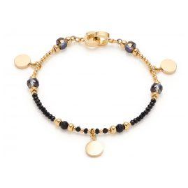 Leonardo 018305 Women's Bracelet Cesira Stainless Steel black/gold