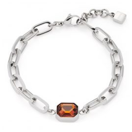 Leonardo 018393 Damen-Armband Candela Edelstahl
