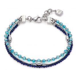 Leonardo 021325 Damen-Armband Lidera Blau